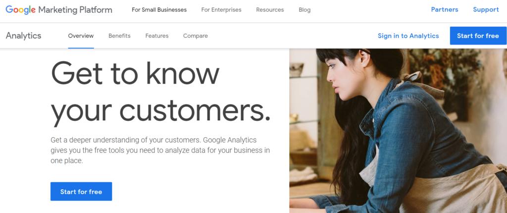 Google Analytics SEO tool